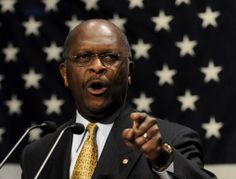 Herman Cain [politician] was an overachiever since high school, and a self-made American success story. Businessman, radio show host, author, and motivational speaker, Cain had all the charm and talk to become leader of the nation, but he was haunted by sex scandals, which he continues to deny. I still like his so much!  What a wonderful asset he has been!