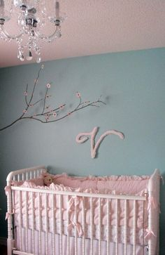 #baby #nursery ideas via @chicposh