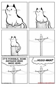 """25 Very Real Cat Comics For Your Caturday Pleasure - Funny memes that """"GET IT"""" and want you to too. Get the latest funniest memes and keep up what is going on in the meme-o-sphere. Cat Comics, Funny Comics, Crazy Cat Lady, Crazy Cats, Cat Memes, Funny Memes, Funny Animals, Cute Animals, How To Cat"""