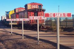 Route 66 Attractions | ... of Burma Shave signs can still be seen along Route 66 in Winslow
