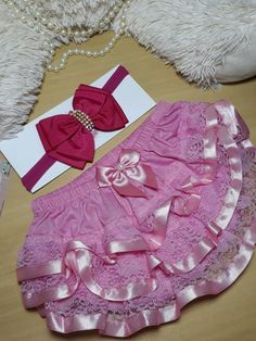 Little Girl Outfits, Little Girls, Babe, Lace Ruffle, Sewing Clothes, Hemline, Lace Shorts, Ribbon Sewing, Holiday Decor