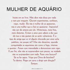 Aquario!! *-* *Sentindo-se aquariana* Ir para china de bicicleta ♥ Viajar sem rumo nem direção *-*