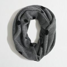 Factory polka-dot infinity scarf - Scarves - FactoryWomen's Handbags & Accessories - J.Crew Factory