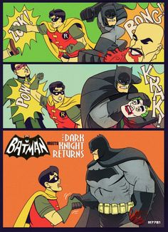 60s Robin, meet 2012 Batman.