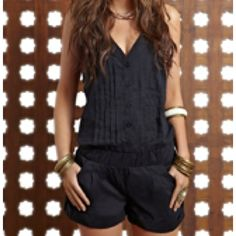 Malai Swimwear 'Black Orchid Dress' Cover-Up by Malai 2012 Cute Jumpers, Black Orchid, Swimsuit Cover Ups, Black Romper, Comfortable Outfits, Designer Wear, Dress To Impress, Fashion Forward, Rompers
