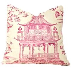 25 Best Pink Toile Ideas Red