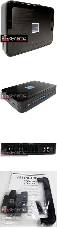 Car Amplifiers: Alpine Pdx-F6 Digital Car Amplifier 600 Watt 4 Speaker Sub Woofer Amp Pdxf6 New -> BUY IT NOW ONLY: $419.95 on eBay!