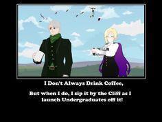 RWBY Ozpin's Coffee  Poster by Dustiniz117
