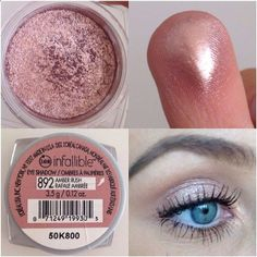 I have it and it makes your eyes pop regardless of the color! LOreal Infallible eyeshadow