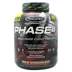 MuscleTech Phase 8 4.4 Lbs! Discount MuscleTech Protein Supplements!