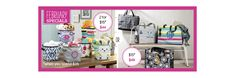 Thirty-One Gifts – February Customer Special! #ThirtyOneGifts #ThirtyOne #Monogramming #Organization #February2018Special #TwoMiniStorageBins #DeluxeOrganizingUtilityTote