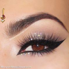 Gorgeous holiday makeup
