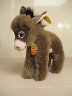 #Steiff Vintage Assy #Donkey #Esel - All IDs - EAN 1510/14 - 1977 to 1985 only