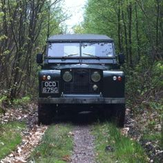 Land Rover Series 2 #drive_in_the_woods