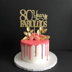 90 Years Loved Cake Topper 90th Birthday Cake Topper Happy 90th