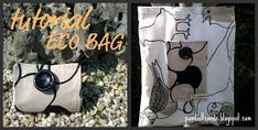 PANDIELLEANDO: TuToriaL: Eco Bag Sewing Projects, Projects To Try, O Bag, Purse Tutorial, Free Pattern, Homemade, Quilts, Crafts, Pouches