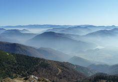 Národní park Malá Fatra, výhled z Chlebu