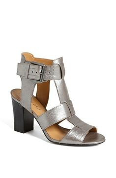Cute summer sandals and not too pricey. Also a heel height that's realistic!