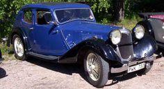 Vintage Riley 1935 Kestrel Saloon