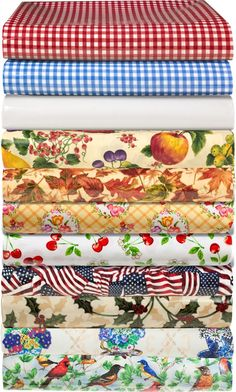 """Oilcloth by the yard (54"""" wide, $24.95) from the Vermont Country Store"""