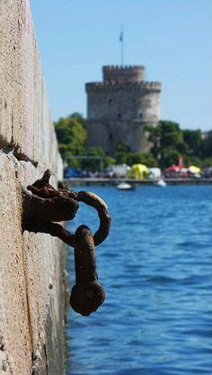 THE WHITE TOWER - Thessaloniki, Greece https://www.facebook.com/ngreece.gr