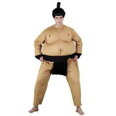 Tu mejor disfraz de sumo adulto bt 8043 emula la estética tradicional oriental de estos samurais del tatami. Sorprende a todos en Despedidas, Fiestas de Disfraces o Carnaval poniéndote en la piel de los míticos luchadores japoneses con este divertido disfraz.Categoria:disfraces de chinos adultos,disfraces de humor hombre adultos.Incluye: mono relleno y peluca