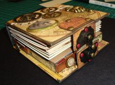 As you can see, the base of the book is made from 4 matchboxes which is where the secrets comes into play. ***wow