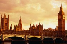 Evening light on Westminster Bridge, Houses of Parliament and Big Ben. Photo by Barbara Van Zanten a Lonely Planet Photographer. Places Around The World, Oh The Places You'll Go, Westminster Bridge, Hiking Europe, Big Ben London, Holiday Places, Houses Of Parliament, I Want To Travel, London Street