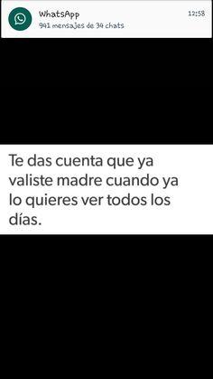 Ya vali >>:'v Sad Love Quotes, Romantic Quotes, Life Quotes, Spanish Memes, Spanish Quotes, Ex Amor, Quotes En Espanol, Truth Hurts, Love Messages