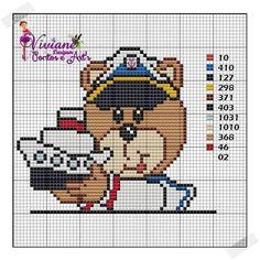 Urso com barco