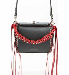 Main Image - Alexander McQueen Box Bag 19 Calfskin Bag