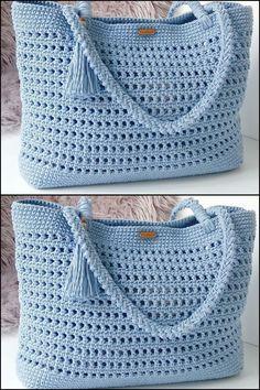 (Video) Tap the image to learn crochet pas . - (Vídeo) Toque na imagem para aprender crochê pas… – (Video) Tap the image to learn crochet pas … – - Crochet Purse Patterns, Bag Crochet, Crochet Handbags, Crochet Purses, Crochet Clothes, Crochet Baby, Knitting Patterns Free, Sewing Patterns, Crochet Summer