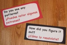 Questioning Strategies (with English/Spanish pdfs) | Math Learning Center