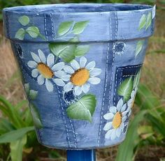 Gorgeous blue pot