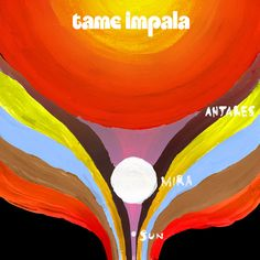 Tame Impala: Previously unavailable EP from the Australian psychedelic hypno-groove band is 5 tracks of untamed enthusiasm and unexpected delight, just in time for Tame Impalas US tour beginning February Australian exclusive release. Kevin Parker, Indie Pop, Vaporwave, Tame Impala Songs, Ep Logo, Street Art, Cool Album Covers, Sr1, Pop Rock