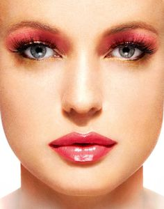 Pink And Gold #makeup, #maquillage, #makeover, https://facebook.com/apps/application.php?id=106186096099420