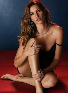 Tom Brady's wife Gisele Bundchen has posed for many sexy ads during her modeling career, but the long-legged beauty says she realizes the body image presented is unrealistic. Gisele Bundchen, Tom Brady, Erotic Photography, Beauty Photography, Gq, Beyond Beauty, Lingerie Shoot, Img Models, I Love Girls
