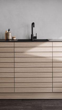 Wooden Kitchens, Home Kitchens, Kitchen Interior, Kitchen Design, Oak Bathroom, Light Oak, Kitchen Living, Home Decor Inspiration, Interior Design