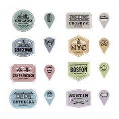 Ednacional-bonobos-badges-sml City Branding, Branding Design, Logo Design, Design Design, Graphic Design Tools, Graphic Design Inspiration, Typography Logo, Graphic Design Typography, Badge Design