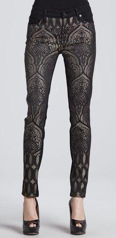 black print leggings pants new years style #UNIQUE_WOMENS_FASHION