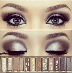 Love this bold look. cute! Her eyes are almost purple its pretty!