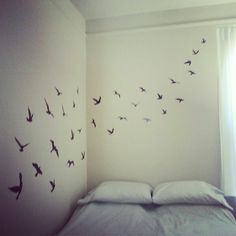 Removable wall decals make any space a true rental sweet rental.