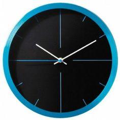 moderne klok blauw