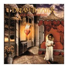 "L'album dei #DreamTheater intitolato ""Images and words"" su vinile."