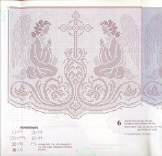 Gallery.ru / Фото #71 - Muestras y Motivos - Motivos Religiosos Ganchillo 01 - Chispitas