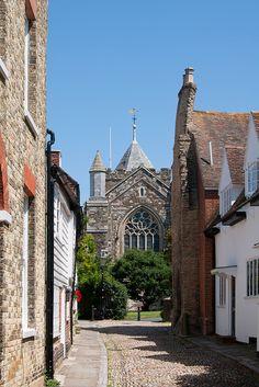 Rye: West Street   East Sussex