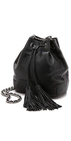 20cdb00792850 Rebecca Minkoff Lexi Bucket Bag | SHOPBOP Pebbled Leather, Dust Bag,  Rebecca Minkoff,