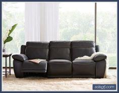 Palliser Lanza Casual Sofa With Sloped Pillow Arms Samsen Furniture Sofa Northwest Ohio
