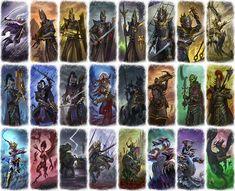 Total Warhammer, Warhammer Dark Elves, Warhammer Fantasy, Fantasy Battle, Fantasy Races, Fb Games, Tomb Kings, Vampire Counts, Wood Elf