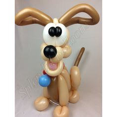 Balloon art, amazing, cool, party, splendid balloons, John Justice, cute, adorable Party ideas, puppy, dog